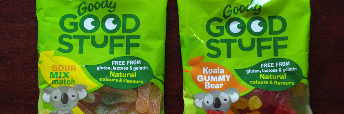 Goody good stuff makes gooey vegan wine gums