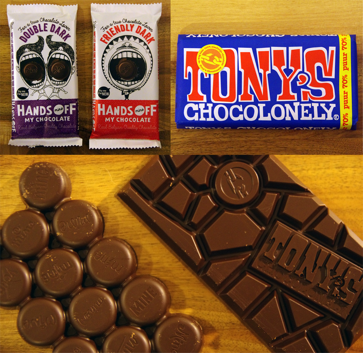 Hands Off My Chocolate and Tony's Chocolonely