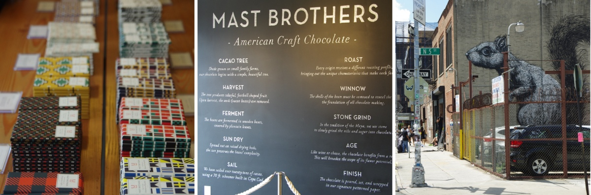 Mast Brothers and impressions from Brooklyn