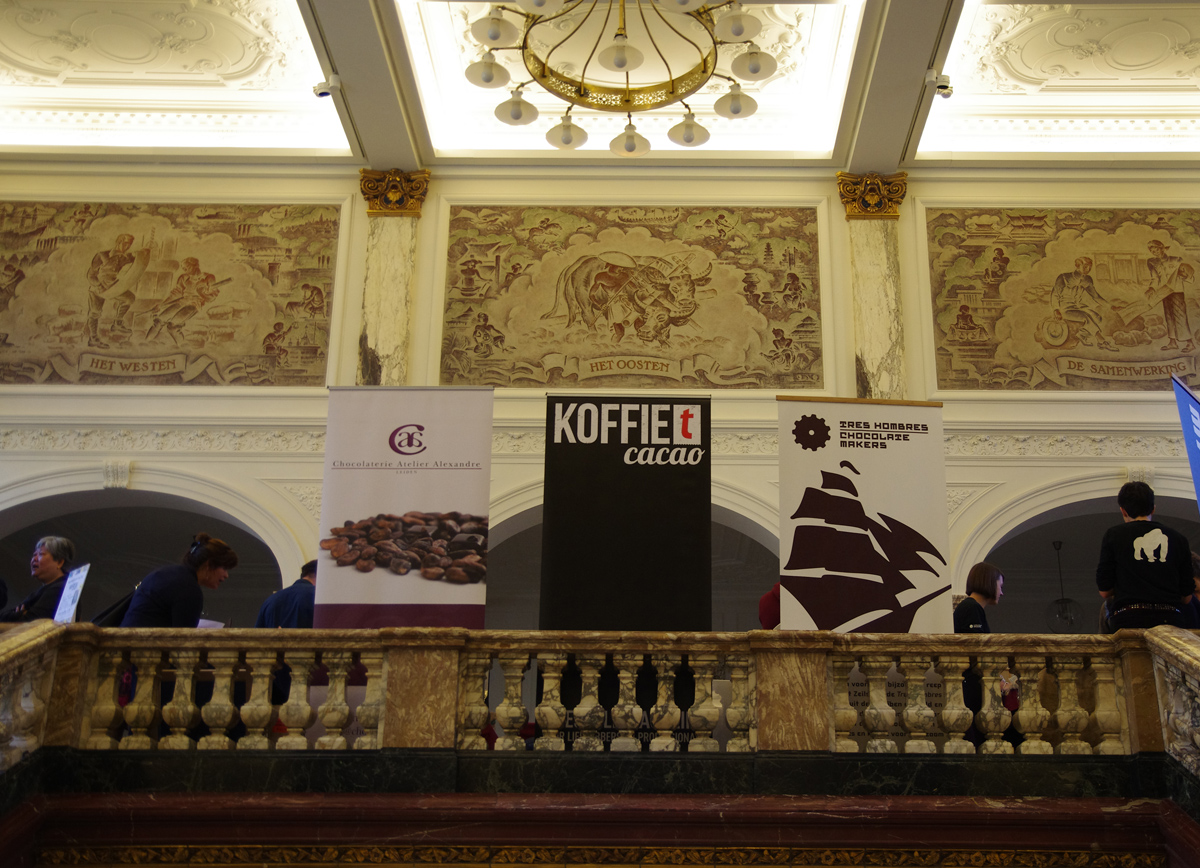 Chocolate-related exposition at Origin Chocolate Events