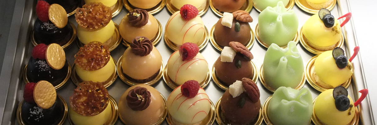 Pretty tarts and chocolates at Patisserie Kuyt in Amsterdam