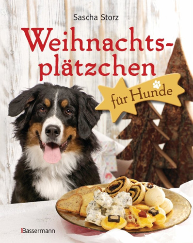 Weihnachtsplaetzchen fuer Hunde - Christmas cookies for dogs - what a great idea